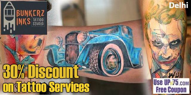 Bunkerz Inks Tattoo Studio offers India