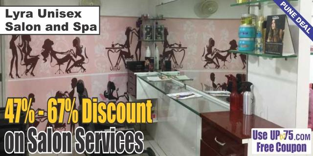 Lyra Unisex Salon and Spa offers India