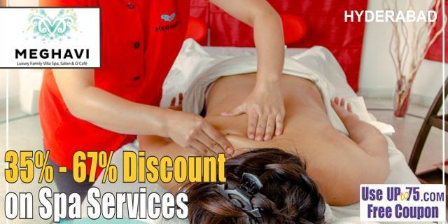 Meghavi Luxury Family Villa Spa Salon and O Cafe offers India