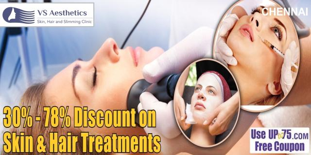 VS Aesthetic Skin Hair and Slimming Clinic offers India