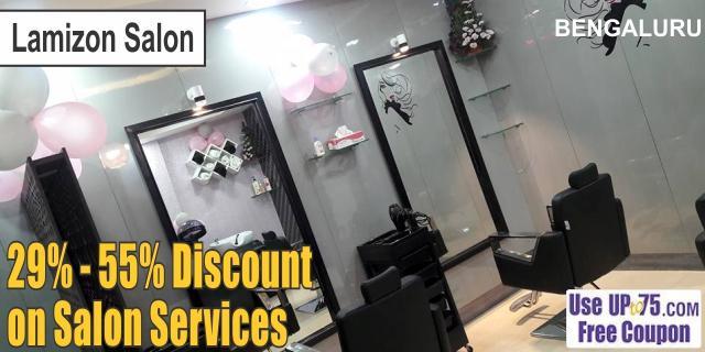 Lamizon Salon offers India