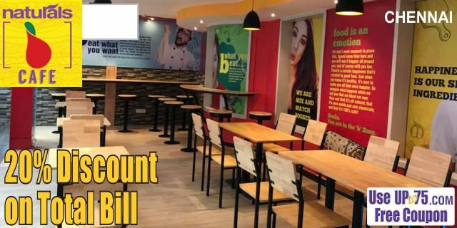 Naturals B Cafe offers India