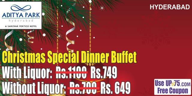 Free Christmas Dinner Near Me 2021 Aditya Park Hotel Hyderabad Christmas Buffet Deals Offers 2021