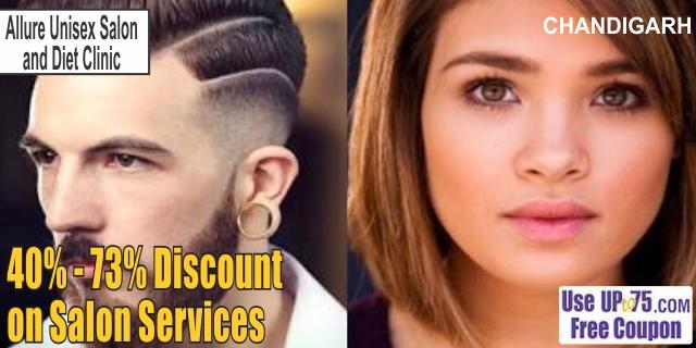Allure Unisex Salon and Diet Clinic offers India