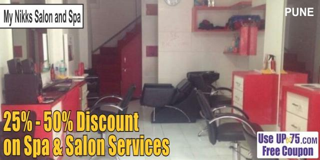 My Nikks Salon and Spa offers India