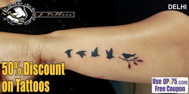 RJ Tattoos offers India