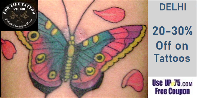 For Life Tattoo Studio offers India