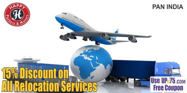 Happy Packers and Movers offers India