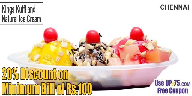 Kings Kulfi and Natural Ice Cream offers India