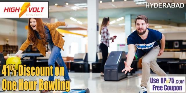 High Volt Bowling and Gaming offers India