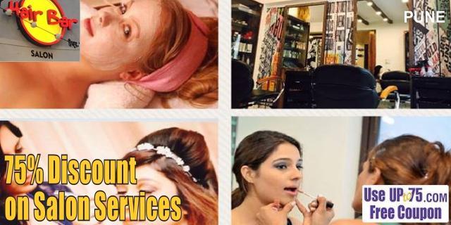 Hair Bar Salon offers India