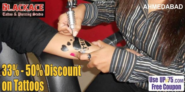 Blackace Tattoo and Piercing Studio offers India
