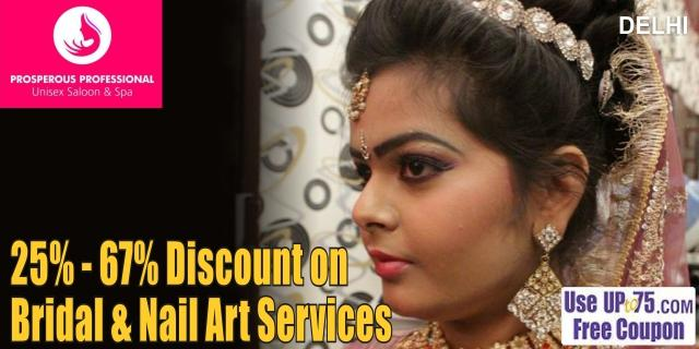 Prosperous Professional Unisex Salon and Spa offers India