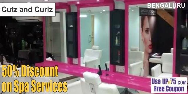 Cutz and Curlz offers India