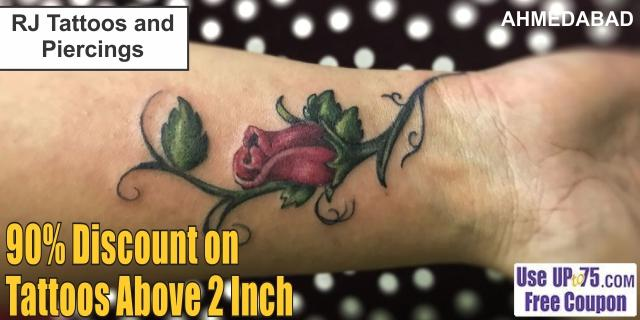 RJ Tattoos and Piercings offers India