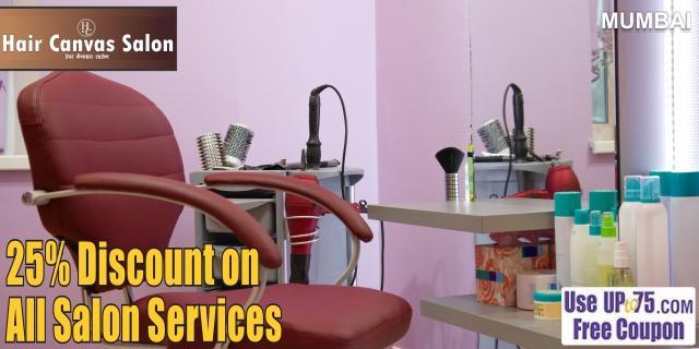 Hair Canvas Salon offers India