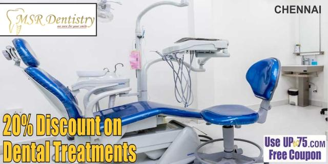 MSR Dentistry offers India