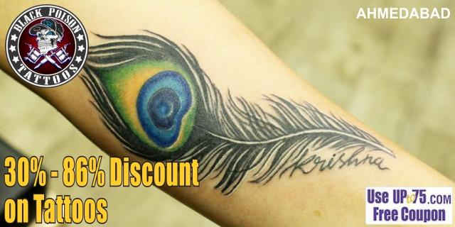 Black Poison Tattoo Studio offers India