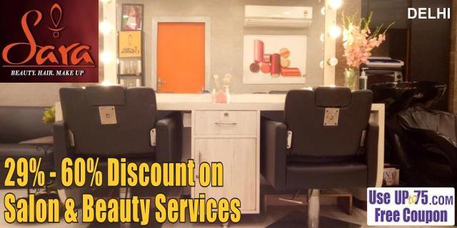 Sara Beauty Salon offers India
