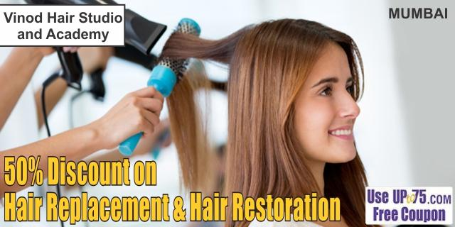 Vinod Hair Studio and Academy offers India