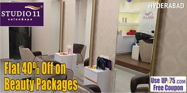 Studio11 Salon and Spa offers India