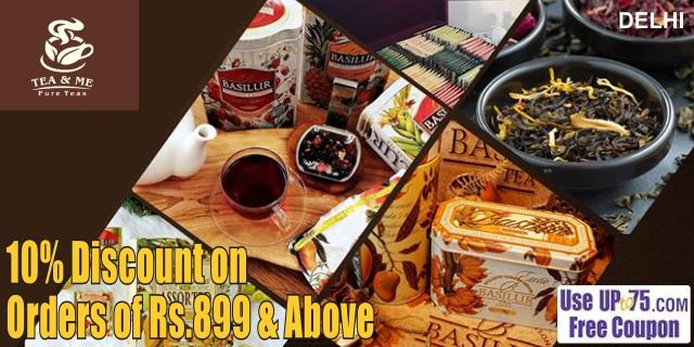 Tea and Me offers India
