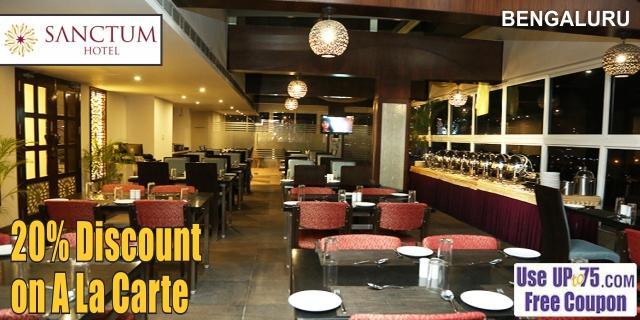 Spice Cove at IV Sanctum Hotel offers India