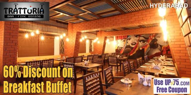 Trattoria Restaurant at Hotel Trishul Grand offers India