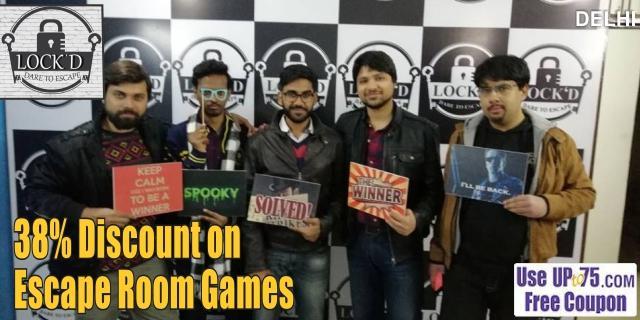 Lockd Escape Rooms offers India