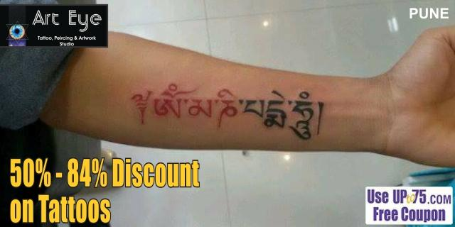 ArtEye Tattoo Piercing and Artwork Studio offers India