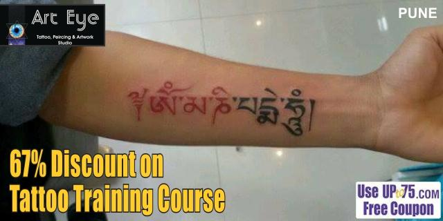 ArtEye Tattoo Piercing and Artwork Studio offers India