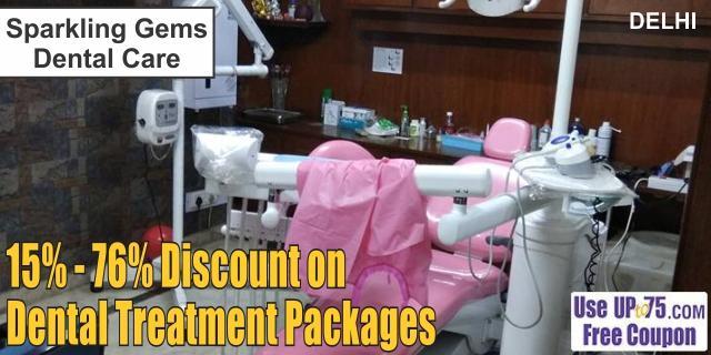 Sparkling Gems Dental Care offers India