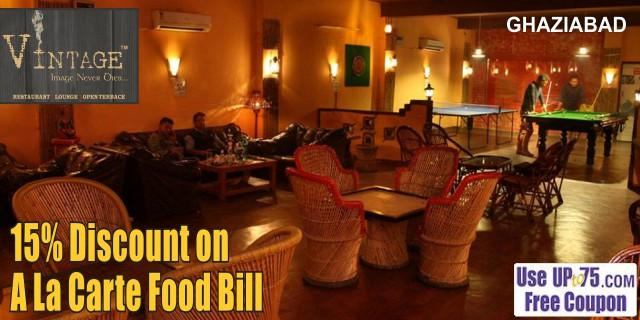 Vintage Restaurant and Lounge offers India