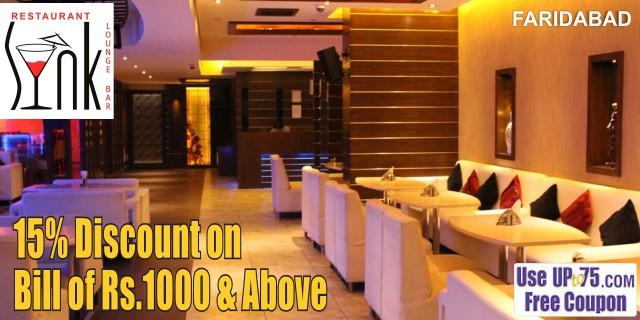 SYNK Lounge Bar and Restaurant offers India