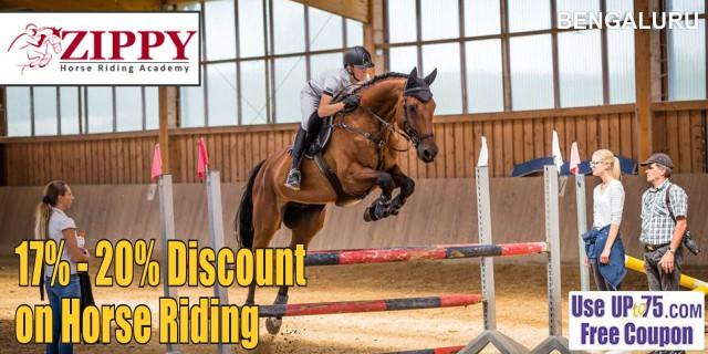 Zippy Horse Riding Academy offers India