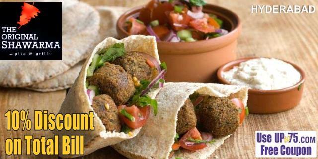 The Original Shawarma offers India