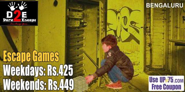 Dare 2 Escape offers India
