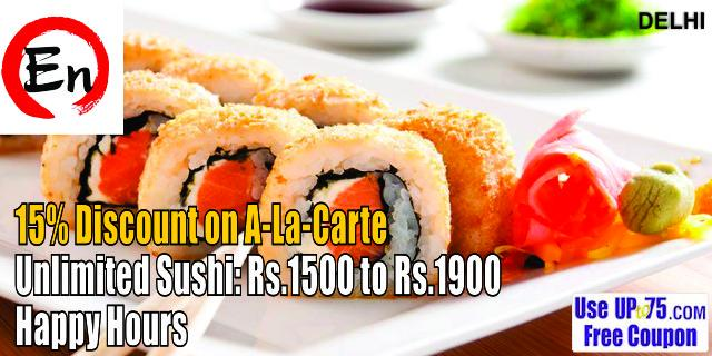 En The Japanese Restaurant offers India