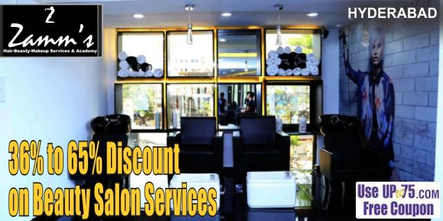 Zamms Salon offers India