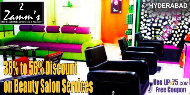Zamms Salon offers India