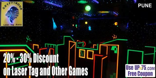 Gryffindor Laser Tag and Gaming Zone offers India