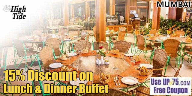 High Tide Restaurant at The Resort offers India