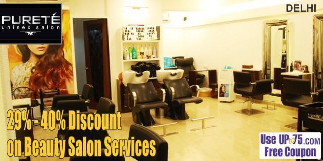 Purete Unisex Salon offers India