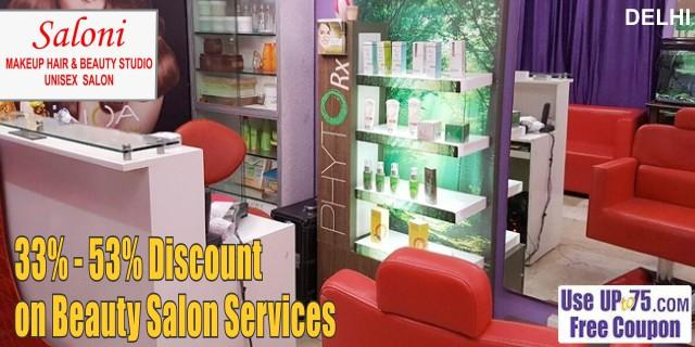 Saloni Makeup and Beauty Studio offers India