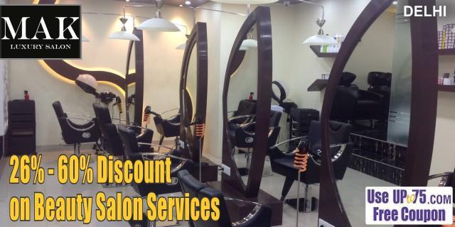 Mak Luxury Salon offers India