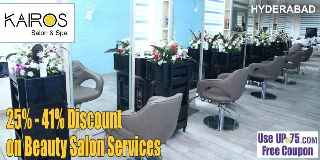 Kairos Salon and Spa offers India