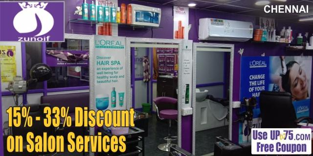 Zunoif Hair and Beauty Salon offers India