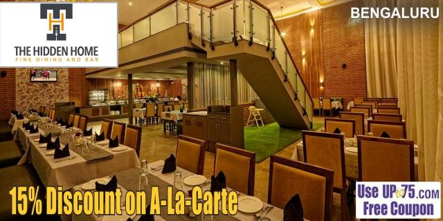 The Hidden Home Fine Dine Restaurant and Bar offers India