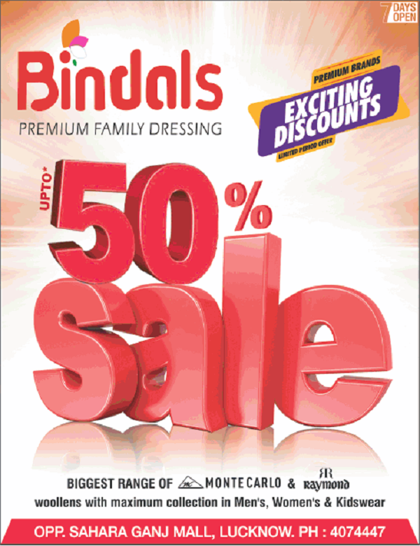 Bindals offers India