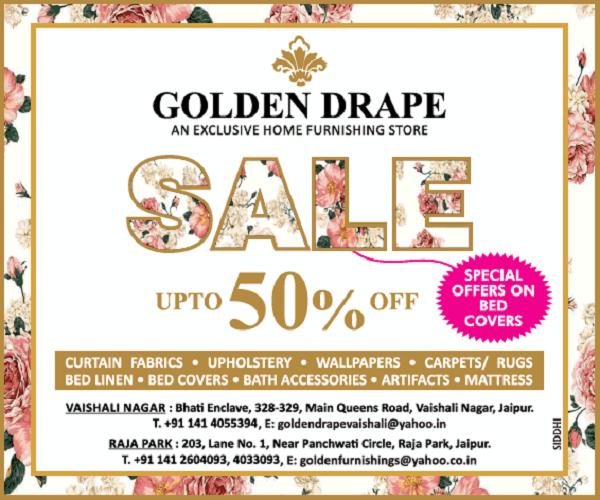Golden Drape offers India